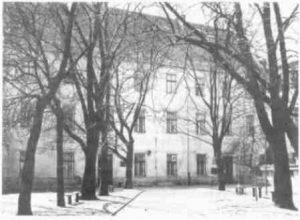 Dawna siedziba Zespołu Szkół Gastronomicznych Nr2 im.Odona Bujwida przy ul.Siennej 11