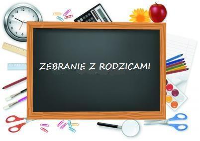Harmonogram zebrań z rodzicami w roku szkolnym 20/21. - Zespół Szkół  Gastronomicznych