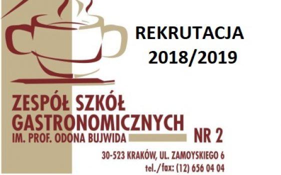 Oferta rekrutacyjna- ZSG nr2