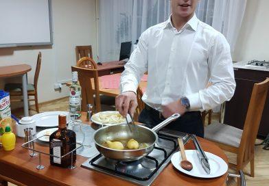Harmonogram kursów gastronomicznych rozpoczynających się wnajbliższą sobotę 27.10 wramach projektu unijnego CENTRUM KOMPETENCJI ZAWODOWYCH WGMINIE MIEJSKIEJ KRAKÓW