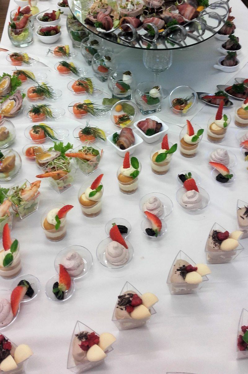 Kurs gastronomiczny w ramach projektu Centrum Kompetencji Zawodowych w Gminie Miejskiej Kraków.