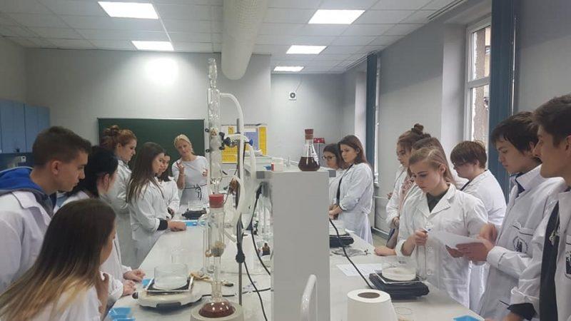 Warsztaty chemiczno-kosmetologiczne.