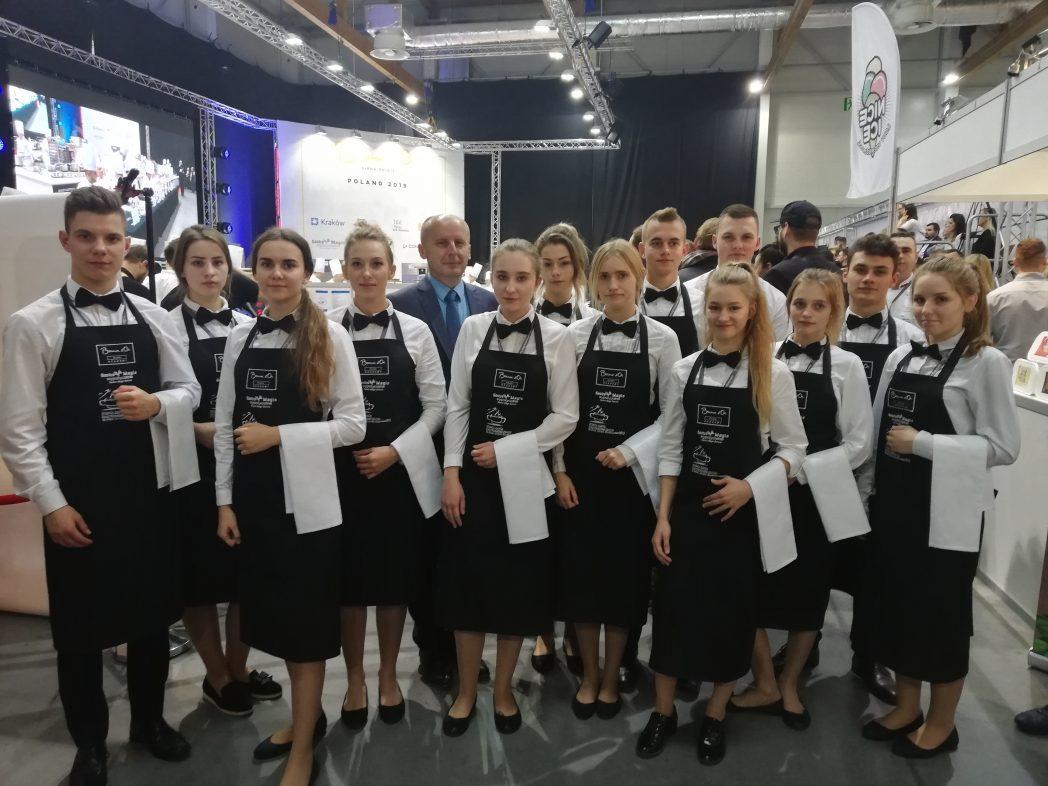 Uczniowie Zespołu Szkól Gastronomicznych nr2 zaangażowani worganizację konkursu Bocuse d'Or!