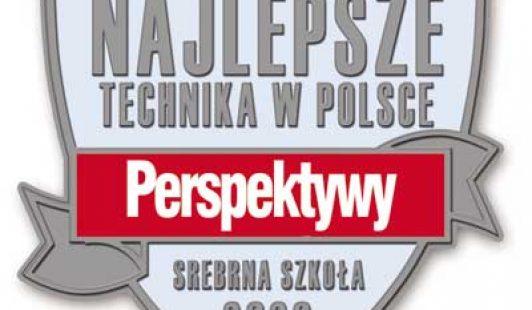 PRZEPIS NADOBRĄ SZKOŁĘ, 6 miejsce wKrakowie, wRankingu Perspektyw wPolsce 105 miejsce.