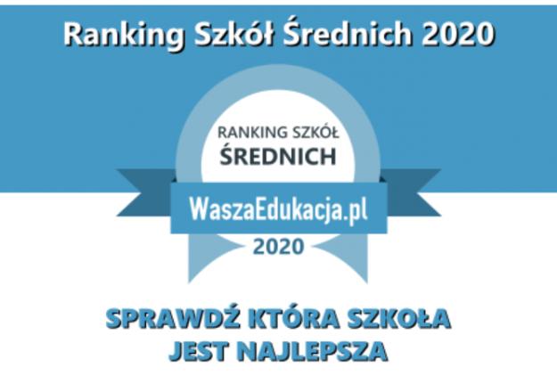 Ranking Techników Kraków 2020, 5 miejsce wKrakowie