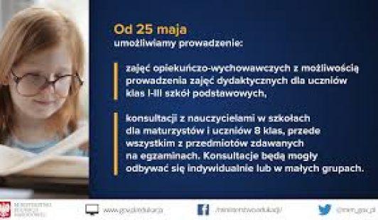 Konsultacje dla maturzystów