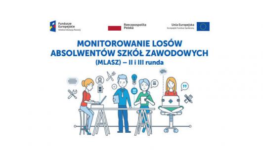 """ZSG nr2 realizuje projekt   """"Monitorowanie losów absolwentów szkół zawodowych – II iIII runda – 2021""""."""